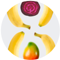 Beet Banana Mango