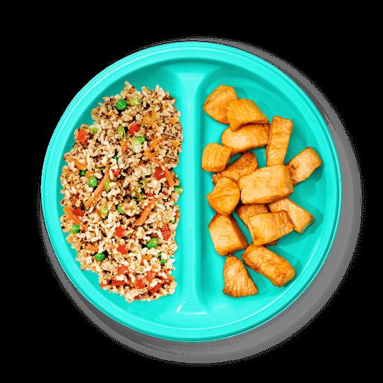 Plate of Chicken Teriyaki