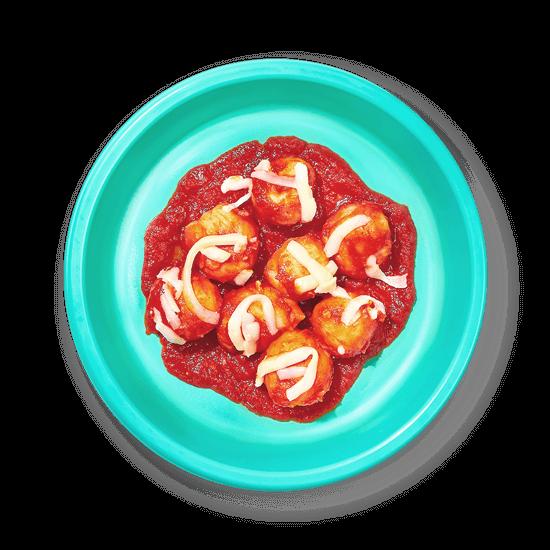 Plate of Gluten-Free Cauliflower Gnocchi