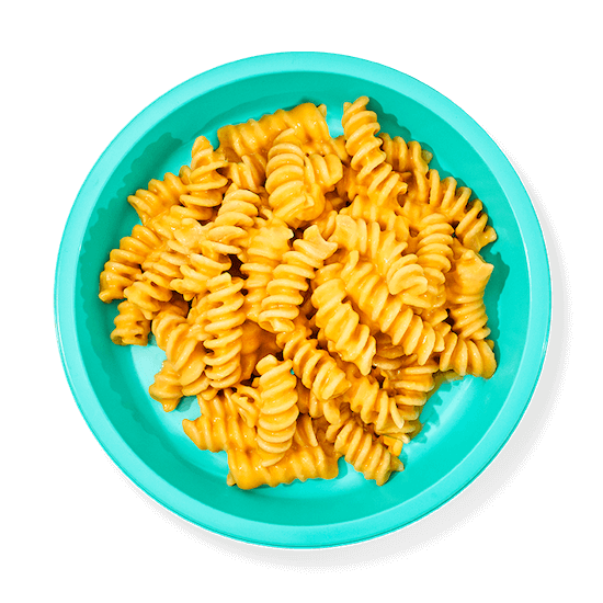 Plate of Mac and Three Cheese