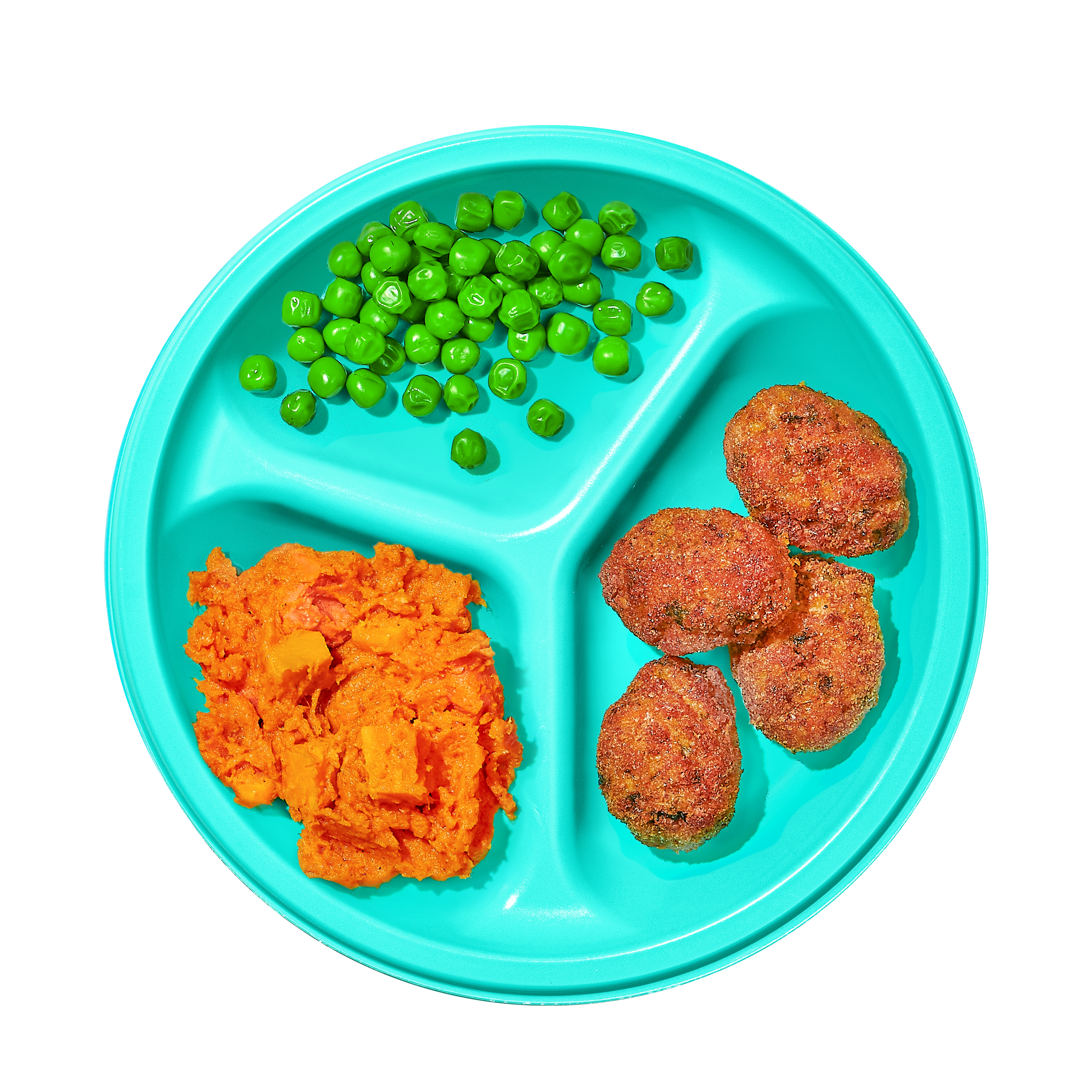 Plate of Chicken Super Nuggets