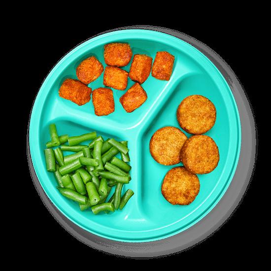Plate of Broccoli Bites